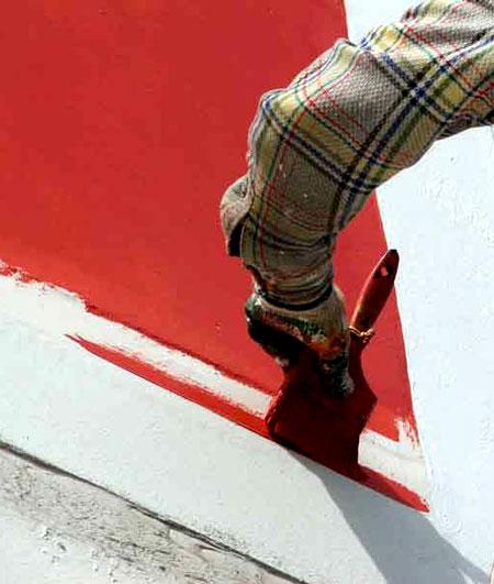фасадные краски требования