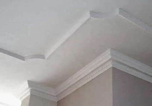 многоуровневый потолок из пенопласта